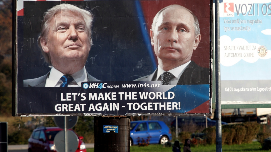 Image result for MAKE THE WORLD GREAT AGAIN PUTIN TRUMP