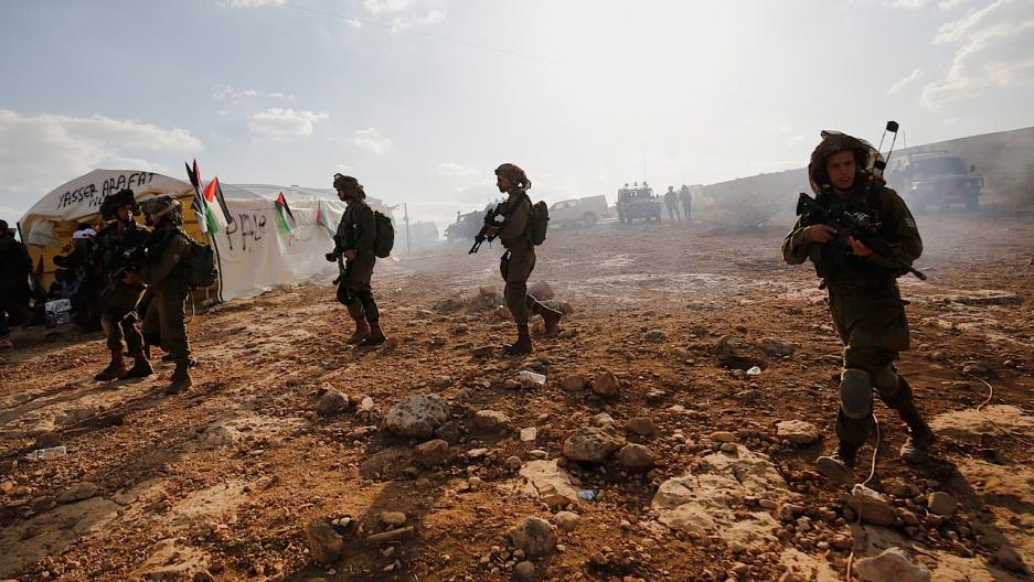 Isreali settlements west bank