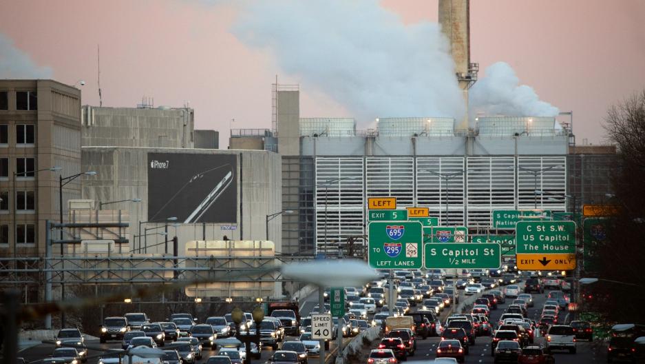 Rush hour in Washington, DC