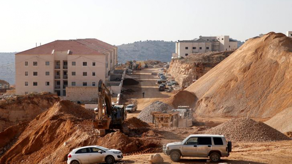 A construction site is seen in the Israeli settlement of Beitar Ilit, in the occupied West Bank December 22, 2016.