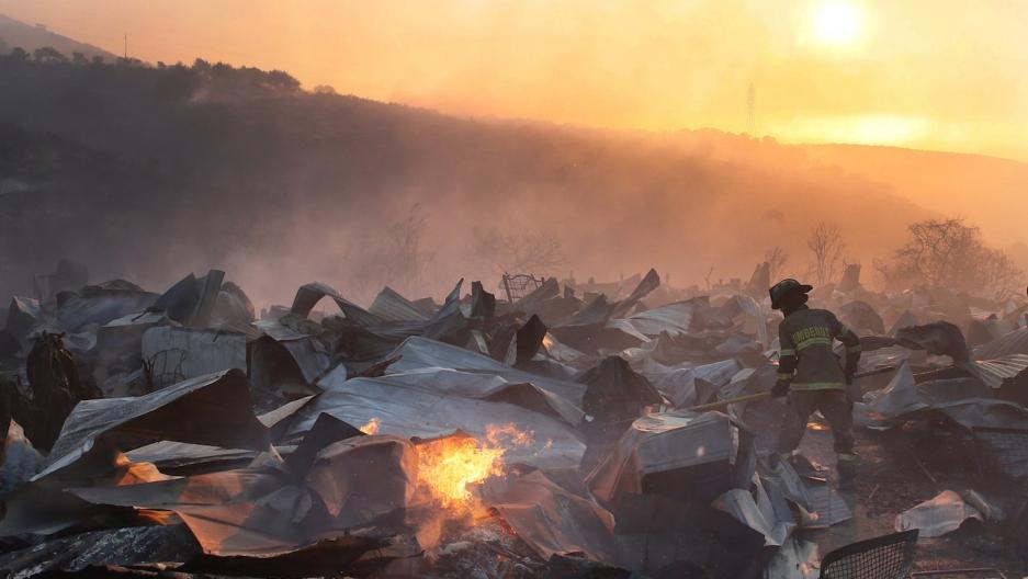 Valparaiso fires Chile