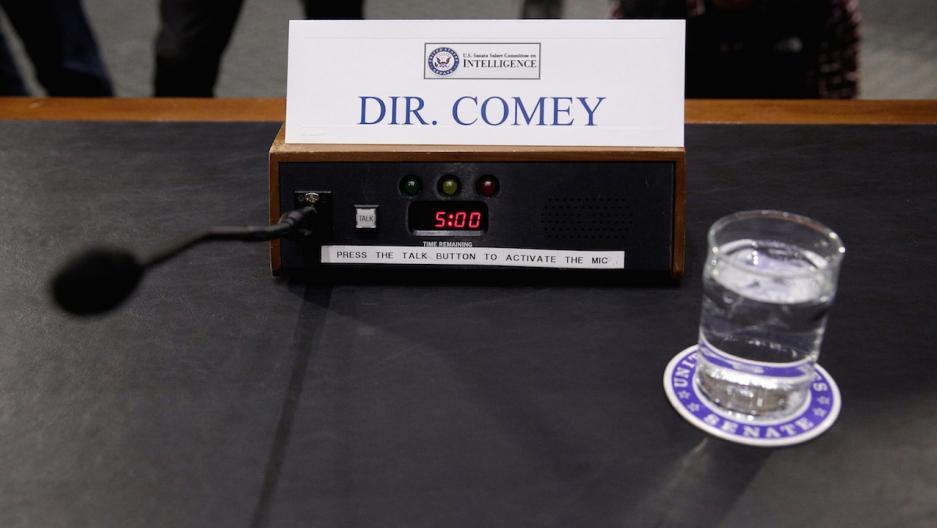 Comey testifies Russia