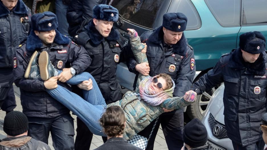Vladivostok protest Russia
