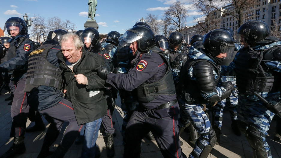 Moscow protest march 26 2017