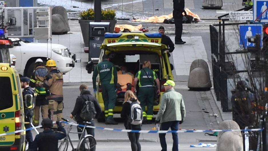 Stockholm Sweden truck attack