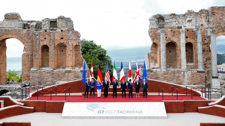 Meeting of the G7 Summit in Taormina, Sicily, Italy, May 26, 2017.