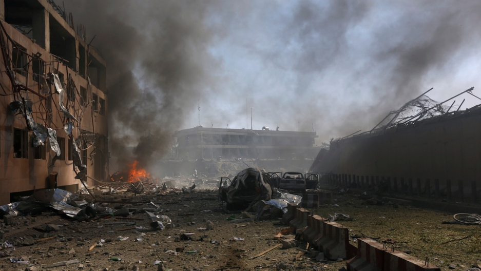 Major attacks on Afghan capital in last year