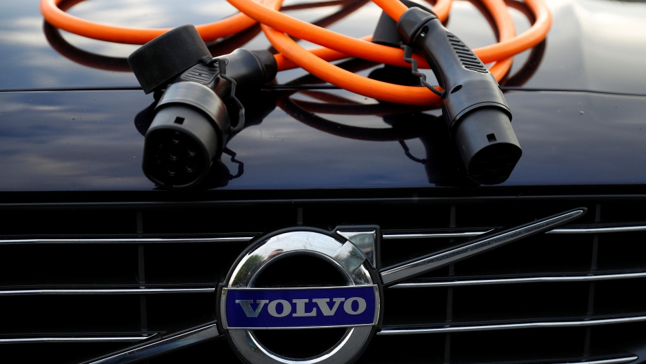 Volvo has promised to phase out gas and diesel-only powered vehicles