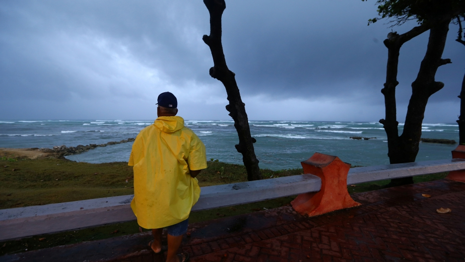 Hurricane Irma has moved off from the northern coast of Puerto Plata, Dominican Republic.