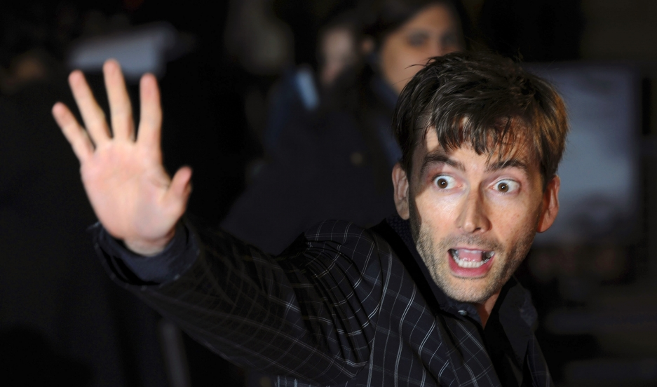 Dr. Who's David Tennant has shown a unexpected ability to talk about Shakespearean bears.