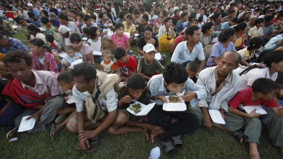 Burmese refugees Thailand