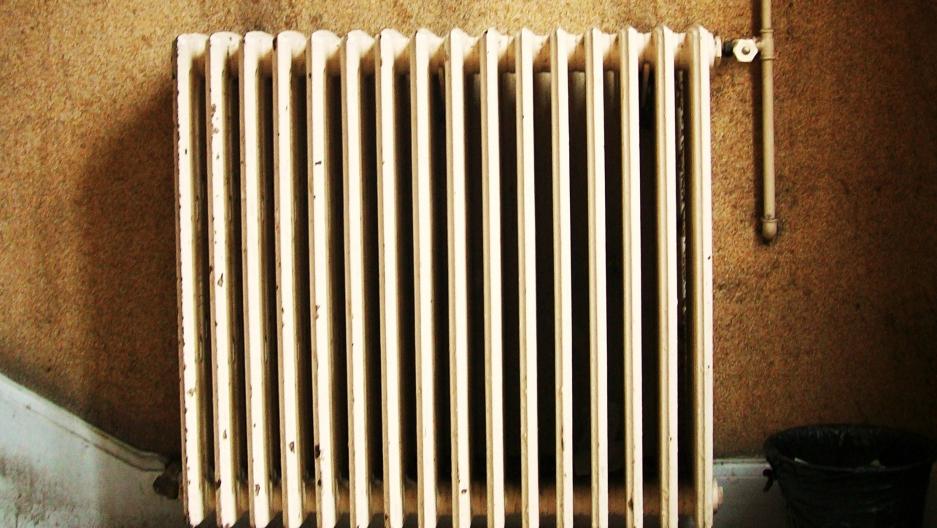 A building radiator in Paris
