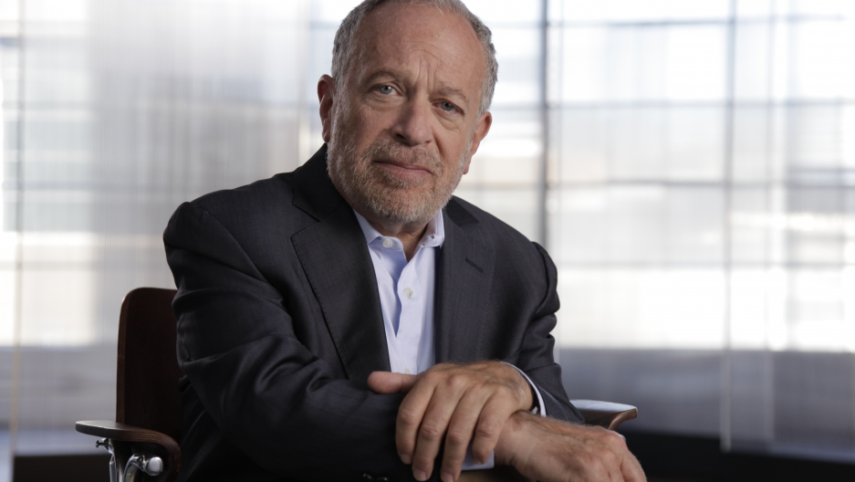 Former Secretary of Labor Robert Reich's new book is called Saving Capitalism: For the Many, Not the Few