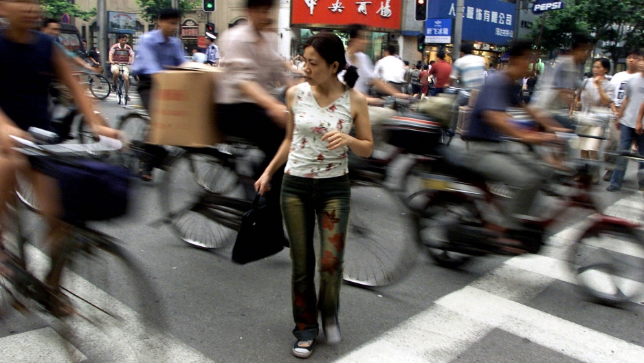 Chinese internet porn sensation huang