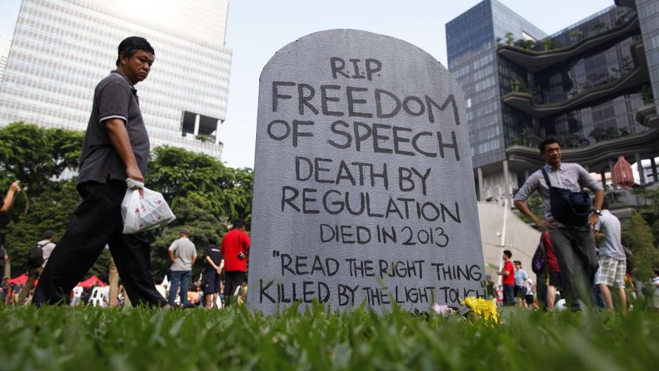 government regulation of radio free speech
