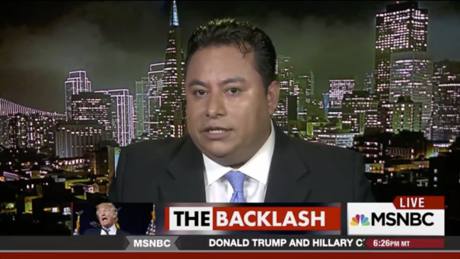 "Marco Gutierrez has gotten a barrage of media attention since he appeared on CNN saying there would be ""taco trucks on every corner"" if Donald Trump didn't win the election."