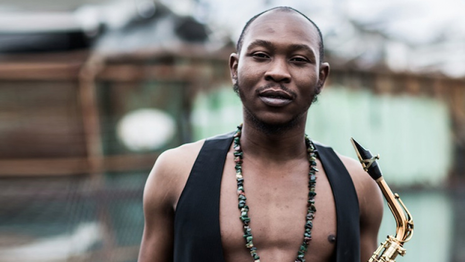 Seun Kuti, son of Nigerian music icon Fela, has a message