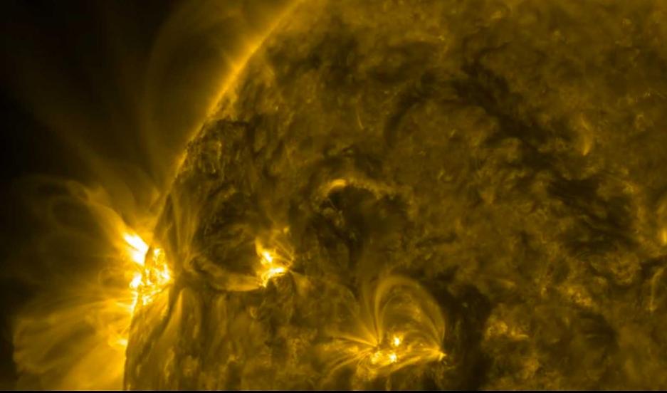 Solar flare, May 5