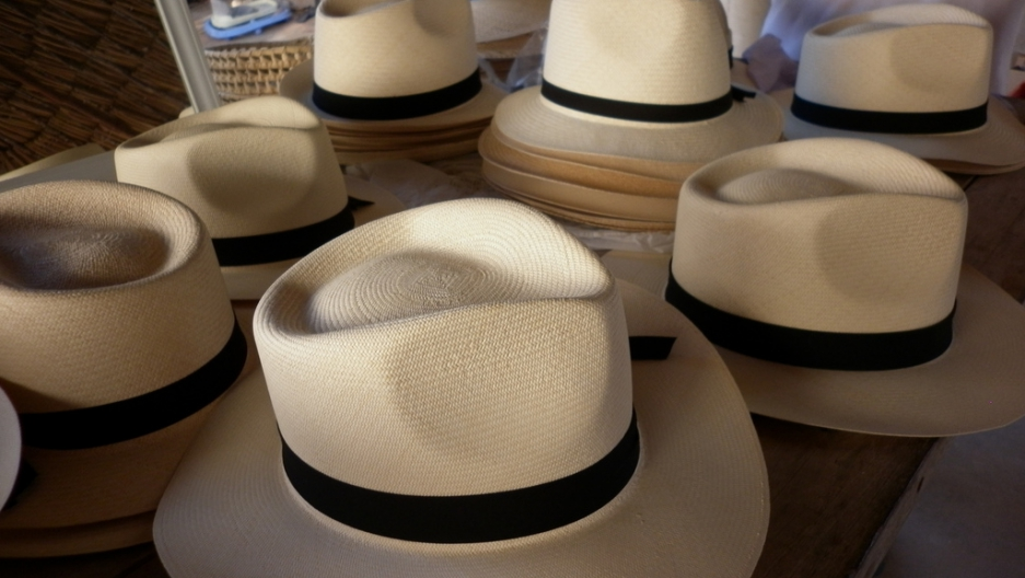 Ecuador s Panama hat. 0f27834ed25