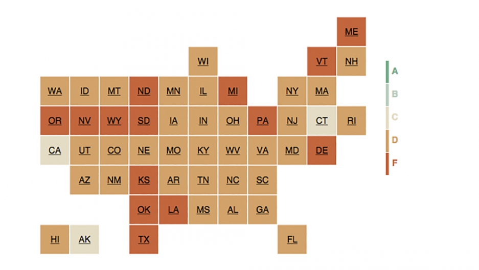How does your state rank for integrity?