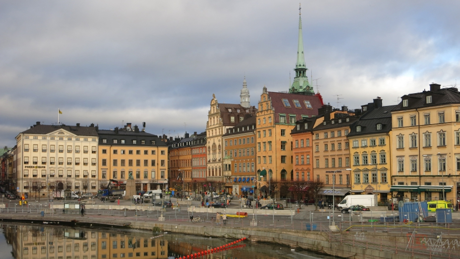 Stockholm's old town, the island of Gamla Stan.