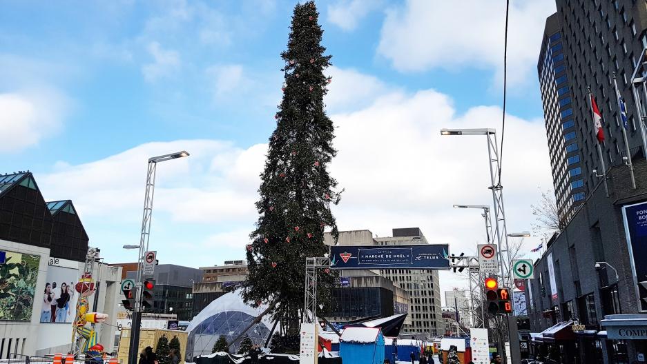 montreals ugly christmas tree - Ugly Christmas Trees