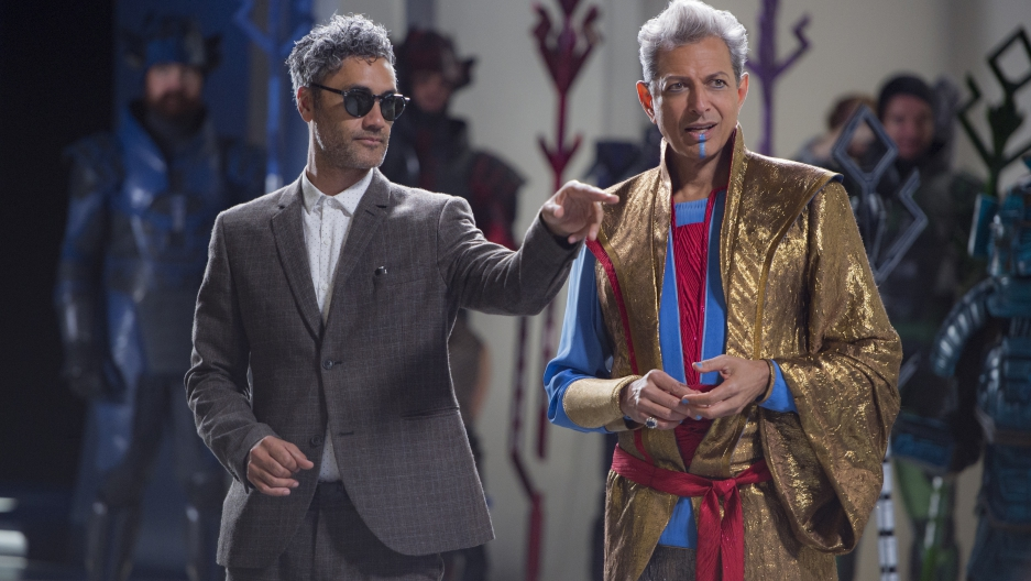 Taika Waititi and Jeff Goldblum