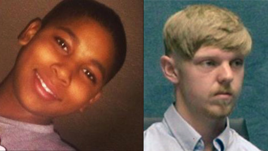 Tamir Rice (L) and Ethan Couch.