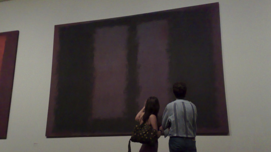 "Mark Rothko's ""Black on Maroon"" at the Tate Modern"