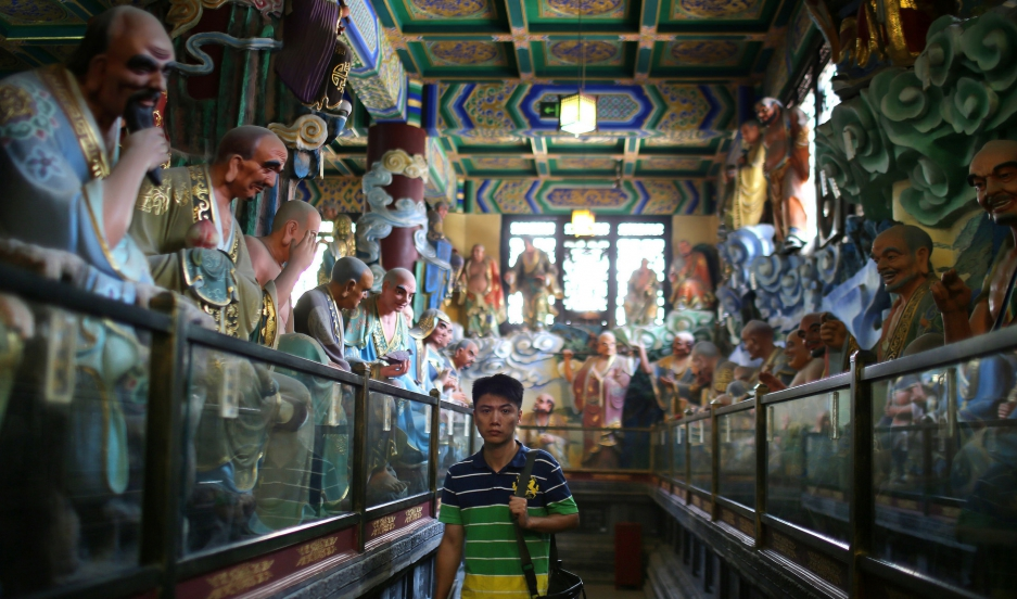 Despite history and recent headlines, China is undergoing a spiritual revival, and China now has the largest population of Buddhists in the world- by some estimates more than 200 million. That's in part because of a collaborative relationship between Chin
