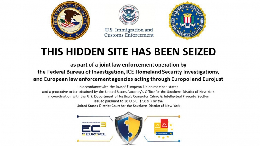 The homepage to Silk Road 2.0, allegedly an underground drug market, is seen in a screenshot after it was closed by U.S. authorities November 6, 2014. U.S. authorities said Thursday they have shut down the successor website to Silk Road, an underground on