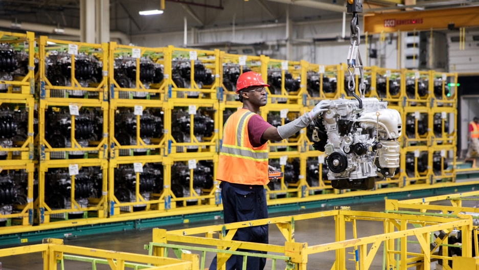 Toyota Motor Manufacturing Alabama builds about 3,000 engines a day at its plant in Huntsville, powering one third of Toyota vehicles produced in North America.
