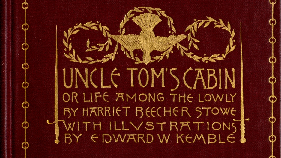 "Cover to ""Uncle Tom's Cabin,"" 1892"