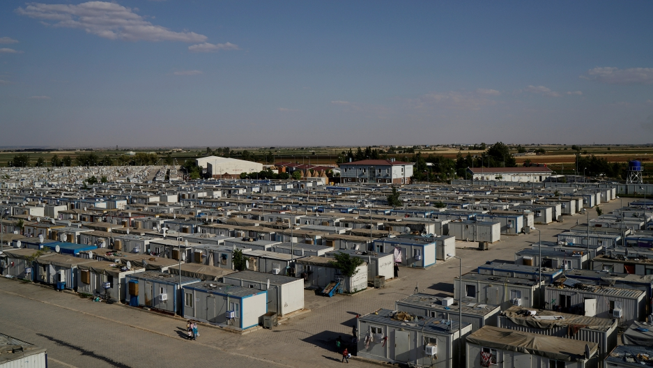 Turkey Refugee Camp