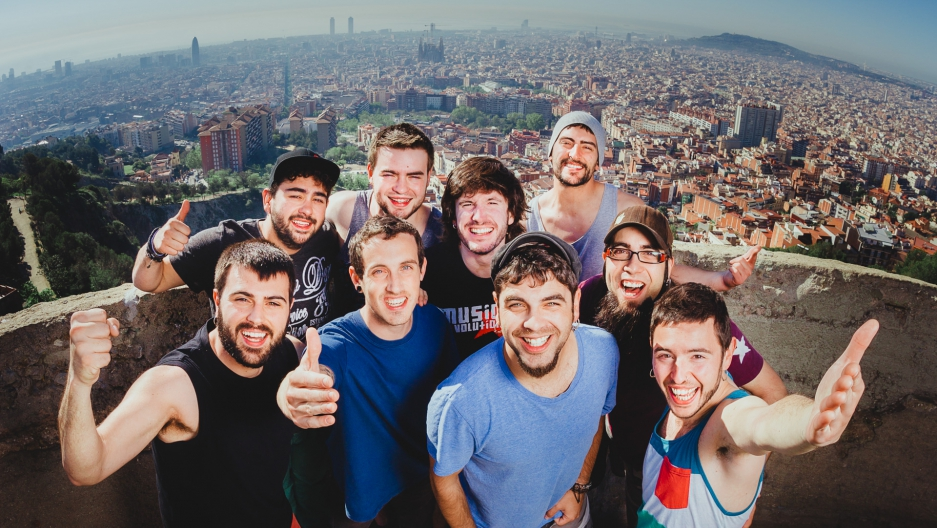 Members of the Catalonian band, Txarango