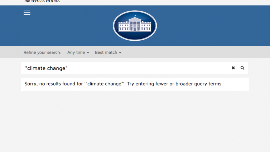 WhiteHouse.gov screenshot