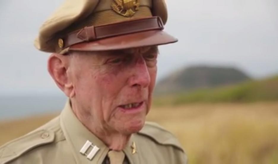 Jerry Yellin, 91, speaking on Iwo Jima, 70 years after the battle