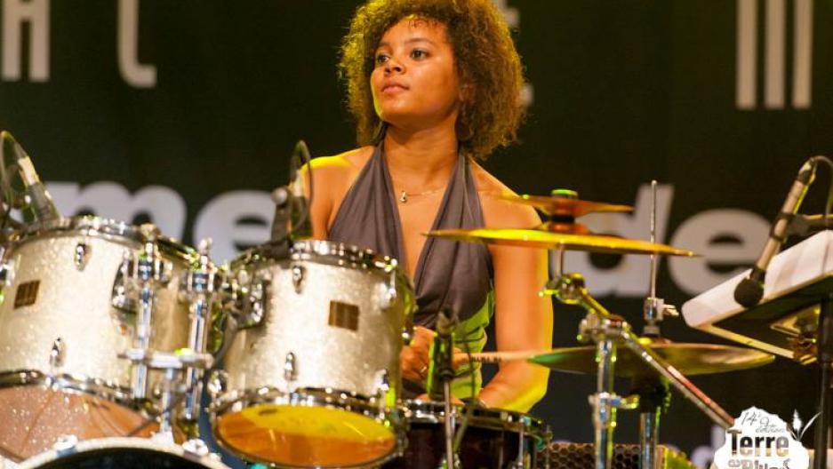 Cuban jazz drummer Yissy Garcia