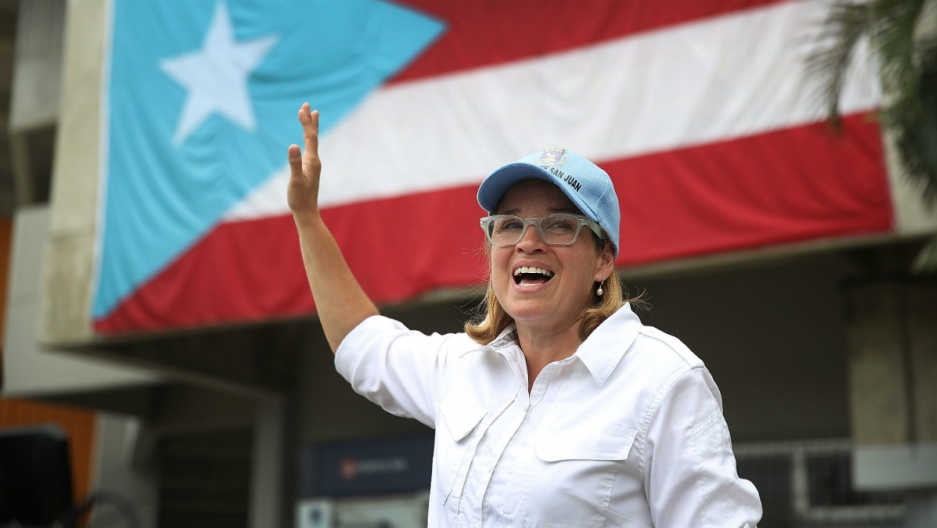 San Juan Mayor Carmen Yulin Cruz