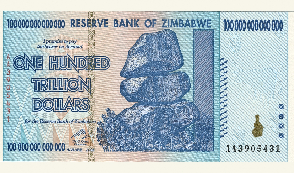 Zimbabwe Zimbabwes Dollar Is Demonetized And The Country Turns To