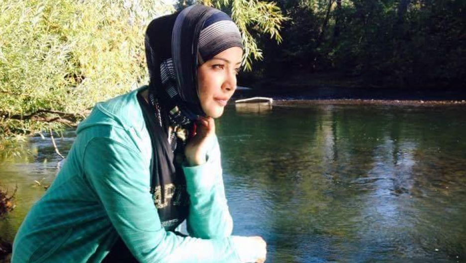 Asmaa Albukaie, Idaho's first Syrian refugee, in her new home.