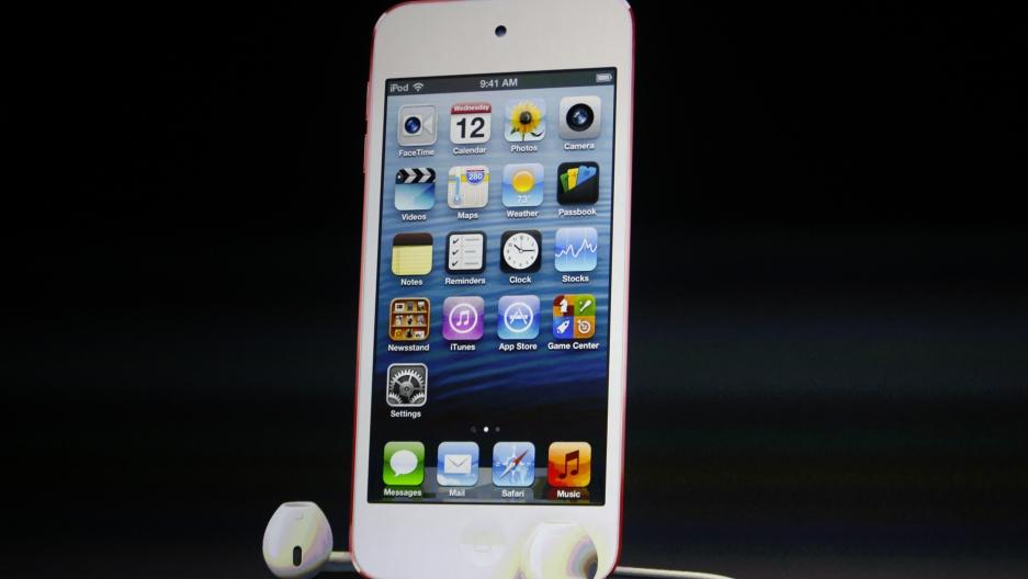 An apple iPod