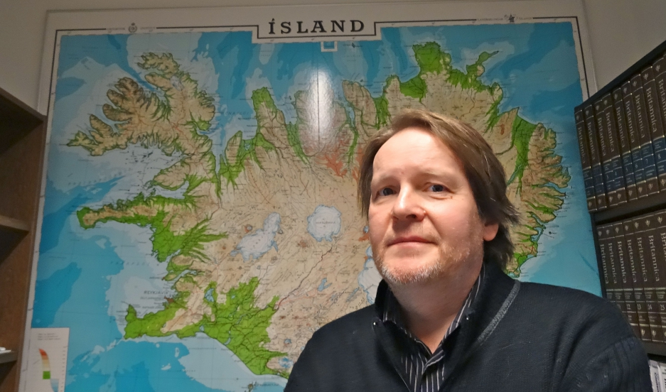 Ari Páll Kristinsson is in charge of language planning at the Árni Magnússon Institute for Icelandic Studies, the Icelandic government's language research agency.