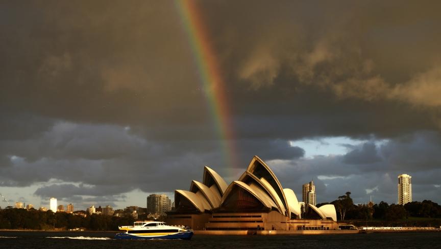 July day in Australia