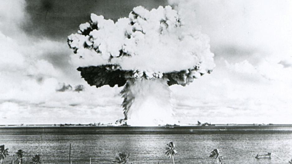 Cable show about bikini atoll atomic testing