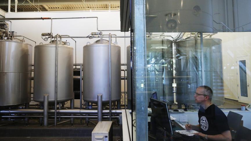 Beer brewing in Massachusetts