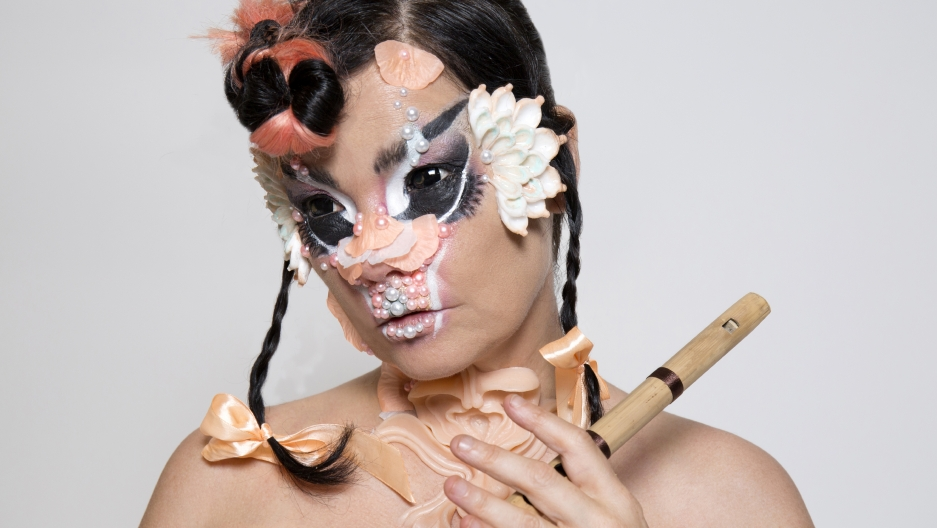 Björk's latest album Utopia explores flutes, birds, and past loves