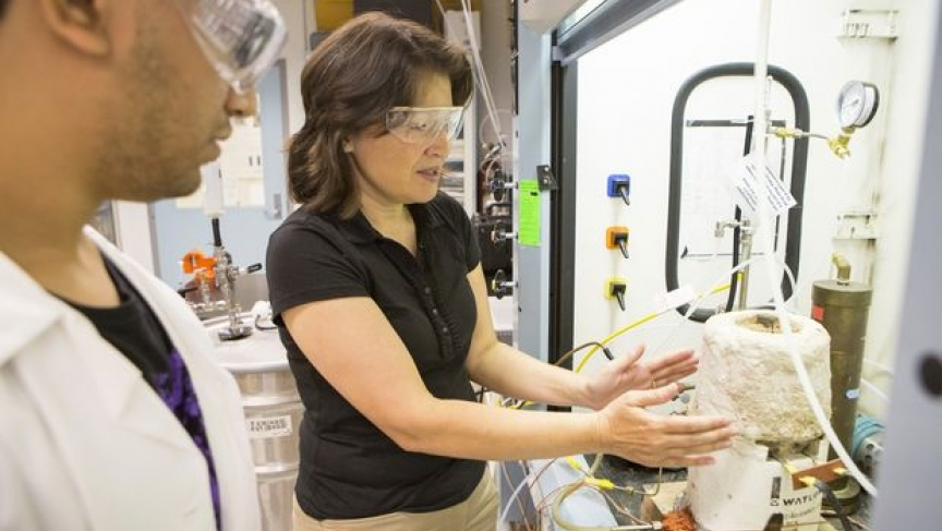 Researcher Tami Bond won a 2014 MacArthur Fellowship for her work investigating the sources of black carbon emissions.