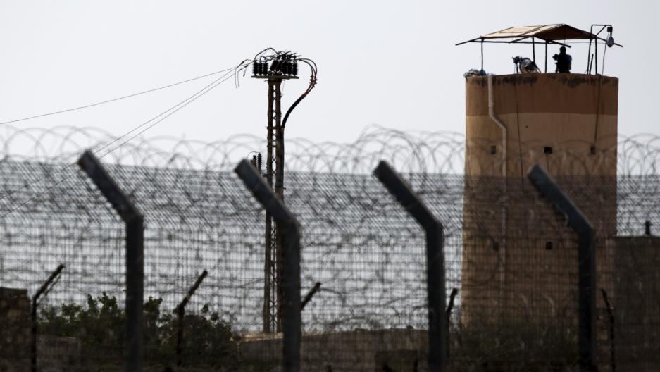 Egypt-Israeli border