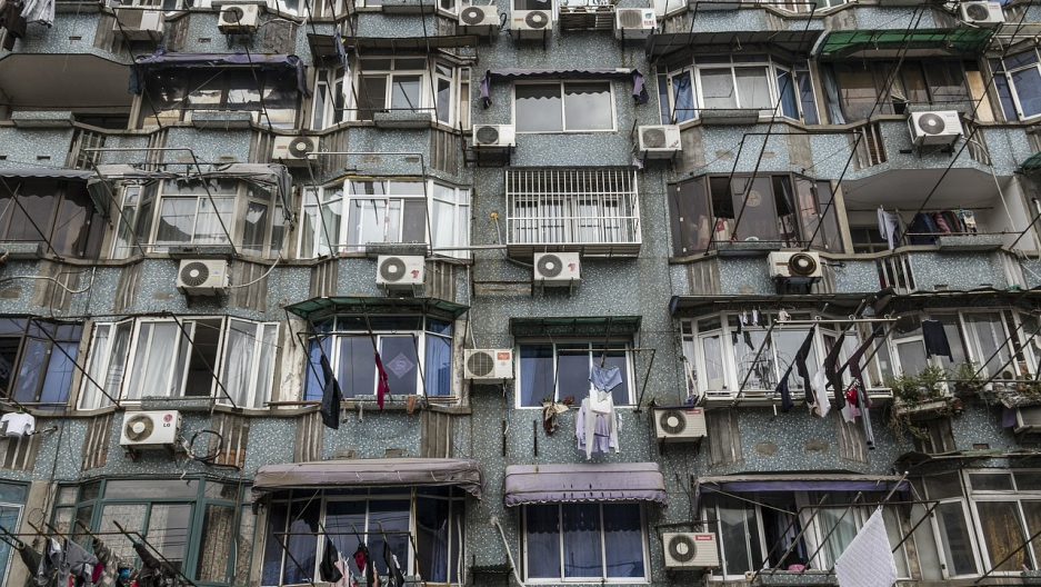 Air conditioning in China.
